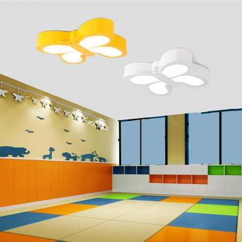 Modern Children's Bedroom Bedroom Ceiling Led Creative Personality Shop Butterfly Cartoon Kindergarten ceiling lights Led Lamp