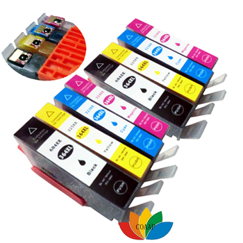 8x Compatible hp 364xl ink cartridge for hp Photosmart D5460 D7560 B209 C309 C310 5510 5515 5520 7510 7520 Printer