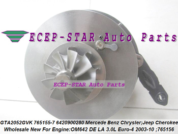 Turbo CHRA Cartridge Core 781743 781743-5001S 781743-5003S A6420901680 For Mercedes Benz Sprinter 219 CDI 319 419 519 E300 OM642