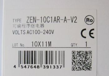 New in box PLC for ZEN-20C1DR-D-V2 ZEN20C1DRDV2