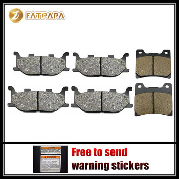 FL + FR + R Brake Pads Fit For YAMAHA 1100 XVS Dragstar XVS1100 1999 2000 2001 2002 2003 2004 2005 2006 2007 2008
