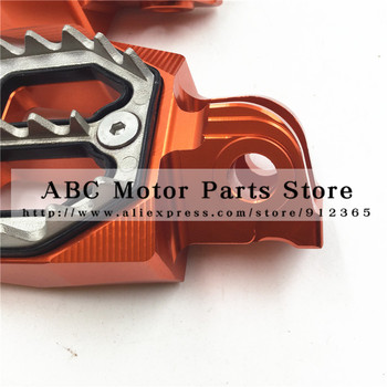 Billet CNC Foot Pegs Pedals Rests Motorcycle Bike Motocross For KTM 65-990 all except 690 SX SXF EXC 125 250 300 450 520 525