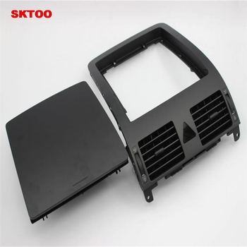 SKTOO For VW Touran 2005-2010 dashboard storage box center console with cover debris box dashboard air conditioning outlet